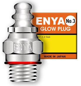 Enya No3 glow plug