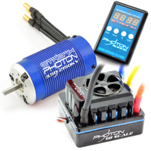 Etronix Photon 1:8 Waterproof 120A ESC Combo With 3.5D 2150kV Motor