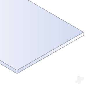 Evergreen 12x24in (30x60cm) Clear Sheet .015in Thick (5 Sheet per pack)