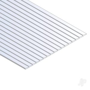 Evergreen 12x24in(30x60cm) Clapboard Siding Sheet .040in (1.0mm) Thick .030in (1 Sheet per pack)