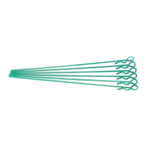 EXTRA LONG BODY CLIP 1/10 - METALLIC GREEN (6)
