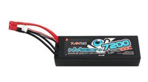 FACTORY PRO 7200-100C-7.4V LIPO BATTERY -DEANS (318G)