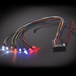 Fastrax Flashing Light Kit Multiple Functions 8-Led Lights