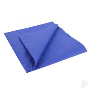 Fighter Blue Lightweight Tissue Covering Paper, 50x76cm, (5 Sheets)