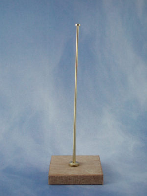 Flush Flagstaff Complete (Brass)(Pk2)