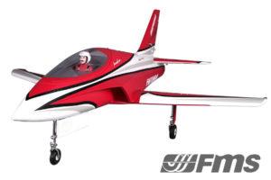 FMS 1060MM Futura 80MM EDF Jet ARTF Red FS0229R