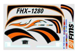 FMS 1280MM EASY TRAINER STICKER