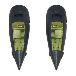 FMS 1700MM F7F TIGERCAT BLUE NACELLES (2PCS)