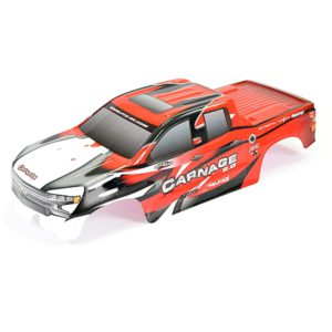 FTX Carnage 2 Red Printed Bodyshell FTX6345R