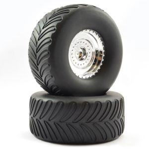 FTX MIGHTY THUNDER MOUNTED WHEEL/TYRE (PR)