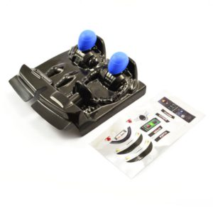 FTX OUTLAW DRIVER COCKPIT W/BLUE DECALS BRUSHLESS