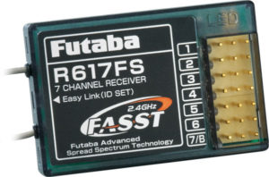 Futaba R617FS Receiver 2.4GHz FASST