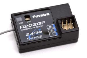 Futaba R202GF 2ch Rx 2.4GHz S-FHSS P-R202GF