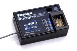 Futaba R203GF 3-Channel Receiver 2.4GHz S-FHSS/FHSS