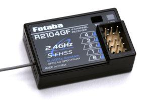 Futaba R2104GF 4-Channel Receiver 2.4GHz S-FHSS/FHSS P-R2104GF/2-4G