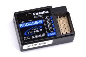 Futaba R304SB-E - 4 Channel Rx T-FHSS 2.4GHz (Electric) P-R304SB-E