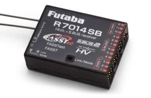 futaba r7014sb fasst/fass test