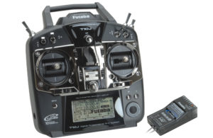 Futaba T10J 10 Channel Combo 2.4GHz (Mode 2) (N-Tx) Mode 2 R3008SB (No Battery or Charger)