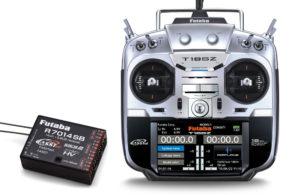 Futaba T18SZ - 18 Channel 2.4GHz (Mode 1) & R7014SB Combo