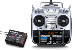 Futaba T18SZ - 18 Channel 2.4GHz (Mode 2) & R7014SB Combo