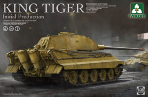 German Heavy Tank King Tiger Initial Production 4 in 1