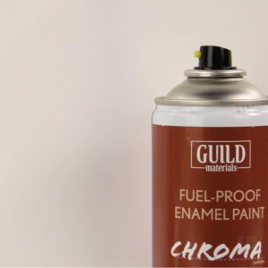 Gloss Enamel Fuel-Proof Paint Chroma Clear (400ml Aerosol)