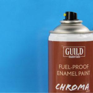 Gloss Enamel Fuel-Proof Paint Chroma Light Blue (400ml Aerosol)