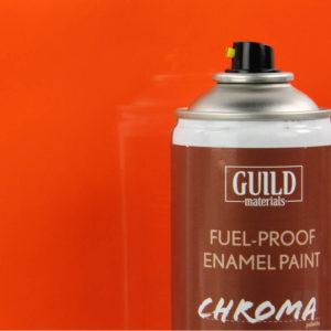 Gloss Enamel Fuel-Proof Paint Chroma Orange (400ml Aerosol)