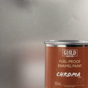 Gloss Enamel Fuel-Proof Paint Chroma Silver (125ml Tin)