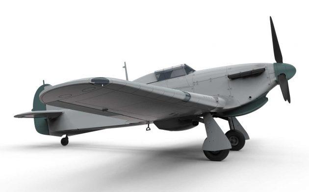 Hawker Hurricane Mk.I - Tropical 1:48