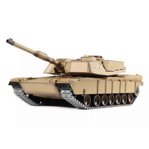 Henglong 1:16 US M1A2 Abrams (2.4GHz+Shooter+Smoke+Sound)