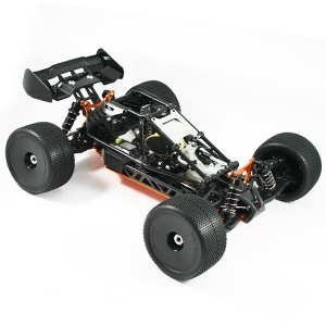 HOBAO HYPER CAGE TRUGGY BLACK NITRO RTR W/MAC28 6P ENGINE