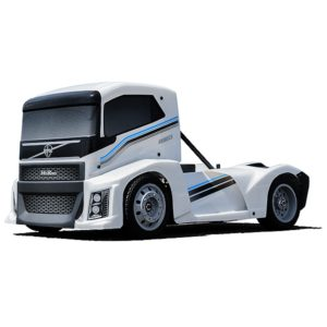 HOBAO HYPER EPX 1/10 CAB TRUCK ROLLER W/PEARL WHITE BODY