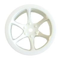 HOBAO HYPER MINI ST 6-SPOKE WHEEL SET WHITE (4)