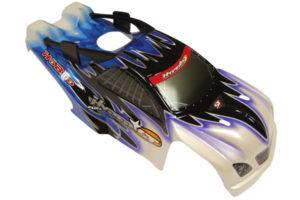 HoBao Hyper ST Pre-Printed Bodyshell - Blue/Black