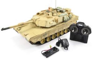 Hobby Engine RC M1A2 Abrams R/C Tank 2.4Ghz Desert