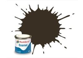 Humbrol 10 Service Brown Gloss - 14ml Enamel Paint