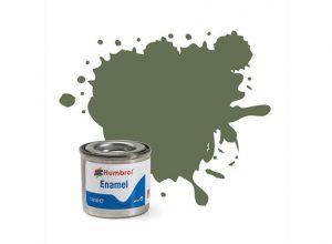 Humbrol 105 Marine Green Matt - 14ml Enamel Paint