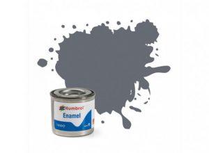 Humbrol 123 Extra Dark Sea Grey Satin - 14ml Enamel Paint