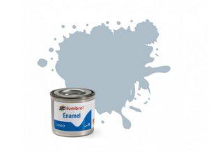 Humbrol 127 US Ghost Grey Satin - 14ml Enamel Paint
