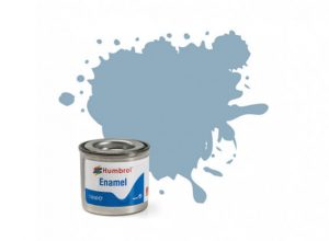 Humbrol 128 US Compass Grey Satin - 14ml Enamel Paint