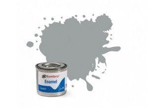 Humbrol 129 US Gull Grey Satin - 14ml Enamel Paint