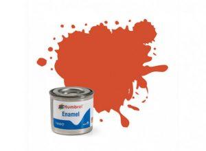 Humbrol 132 Red Satin - 14ml Enamel Paint