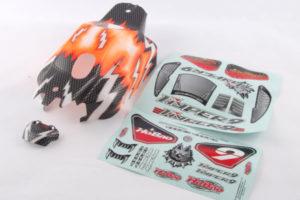 Hyper 9 Pre-printed Bodyshell - Orange