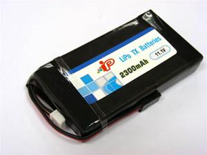 Intellect -Tx Lipo 2300mAH - 1C - 3S - 3Pk