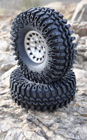 "Interco IROK 1.9"" Tyres (2) RC4WD with Foams Z-T0054 Wide footprint SOFT"