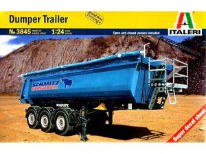 Italeri 1/24 DUMPER TRAILER 3845
