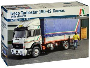 Italeri 1/24 Iveco Turbostar 190-42 Canvas With Elevator # 3939