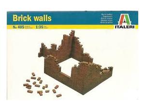 Italeri 1/35 Brick Walls set # 405