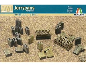 ITALERI 1/35 JERRY CANS SET MODEL KIT # 402